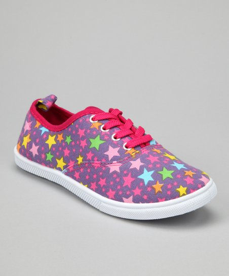 Purple Star Sneaker