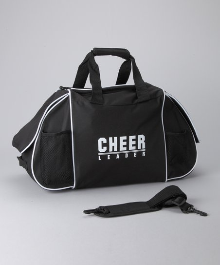 Black & White 'Cheer' Ultimate Duffel Bag