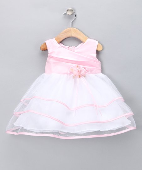 Light Pink Ribbon Dress - Infant