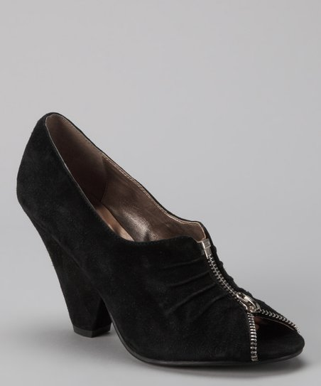 Black Suede Coderie Pump