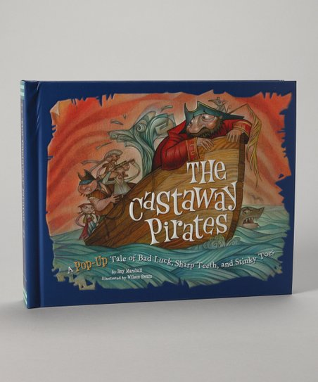 The Castaway Pirates Pop-Up Hardcover