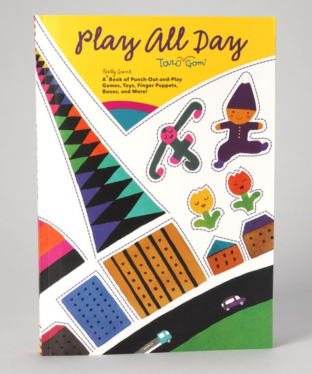 Taro Gomi's Play All Day Paperback