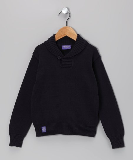 Navy Sweater - Boys
