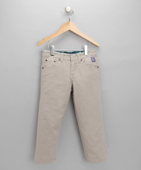 Tan Twill Pants - Toddler &amp; Boys