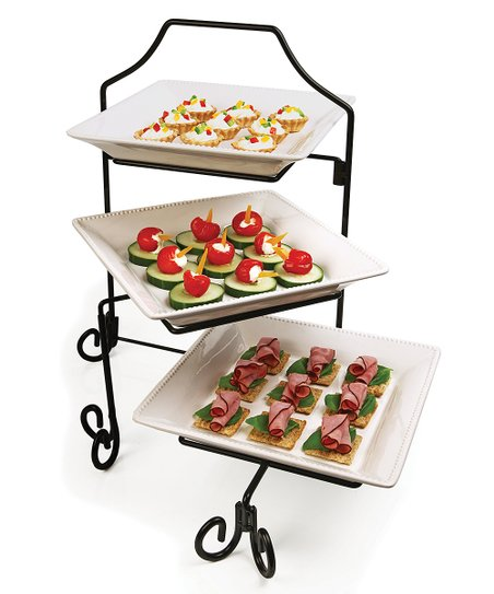 Marlton Collection Three-Tier Tasting Set
