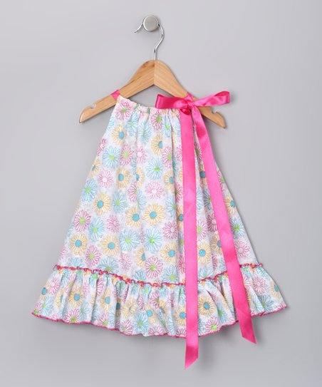 Pink Floral Melisa Dress - Infant, Toddler &amp; Girls
