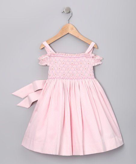 Pink Camille Dress - Infant, Toddler & Girls