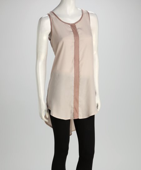 Mocha Shirttail Tunic