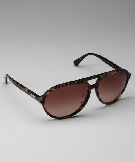 Coach Tortoise Retro Sunglasses