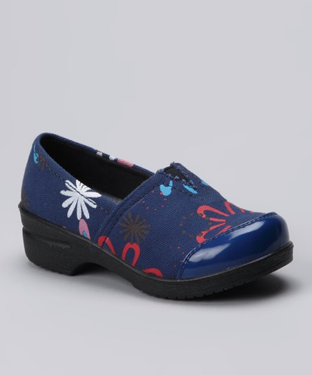 COCO Jumbo Blue Canvas Clog
