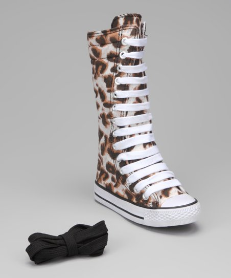 Giraffe Knee-High Sneaker