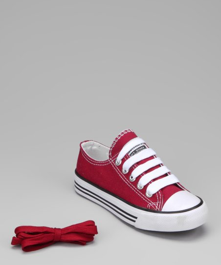 Dark Red Sneaker