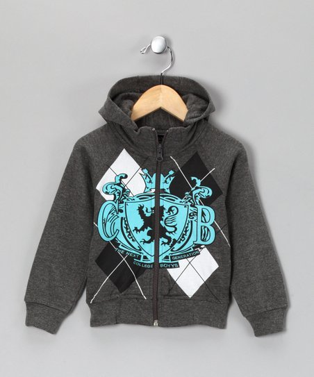 Gray Generation Zip-Up Hoodie - Infant &amp; Toddler