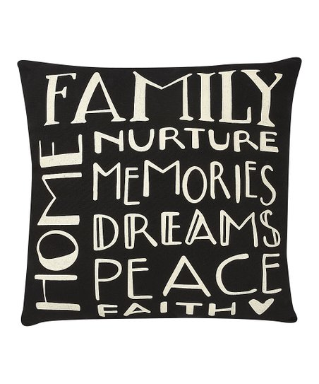 'Family Home' Pillow
