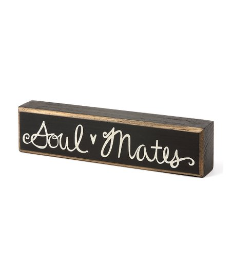 &#039;Soul Mates&#039; Box Sign