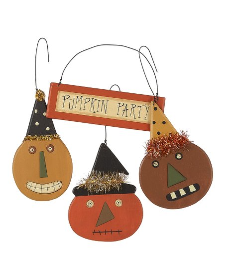 Collins &#039;Pumpkin Party&#039; Ornament Set