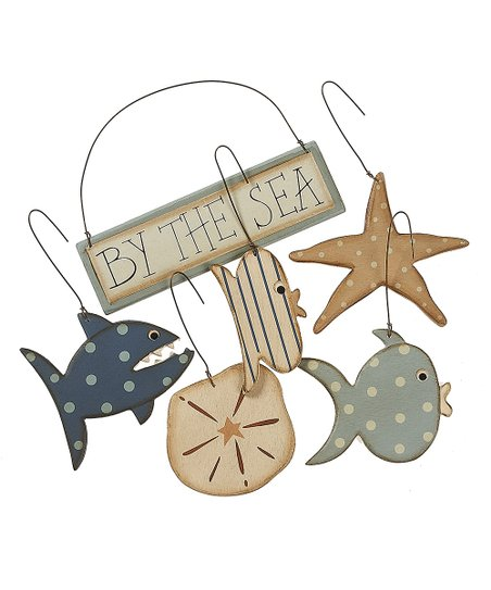 By the Sea Ornament Set