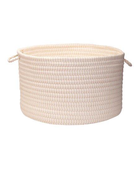 Canvas Utility Basket