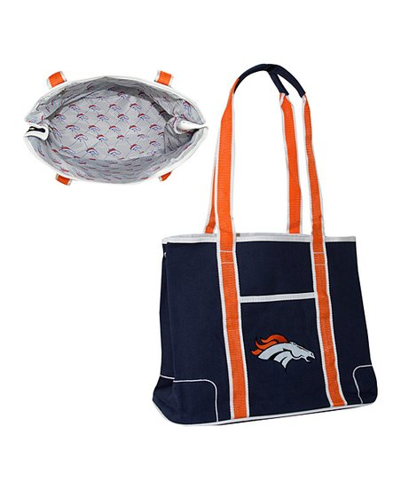 Navy Denver Broncos Hampton Tote