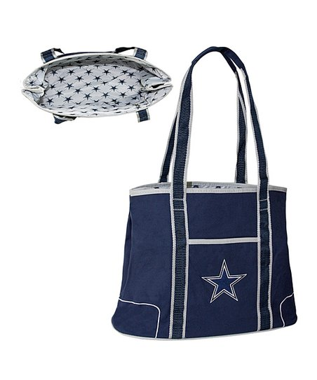 Navy Dallas Cowboys Hampton Tote