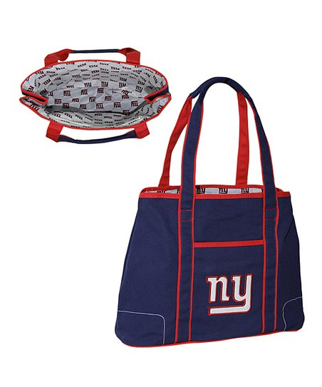 Navy New York Giants Hampton Tote