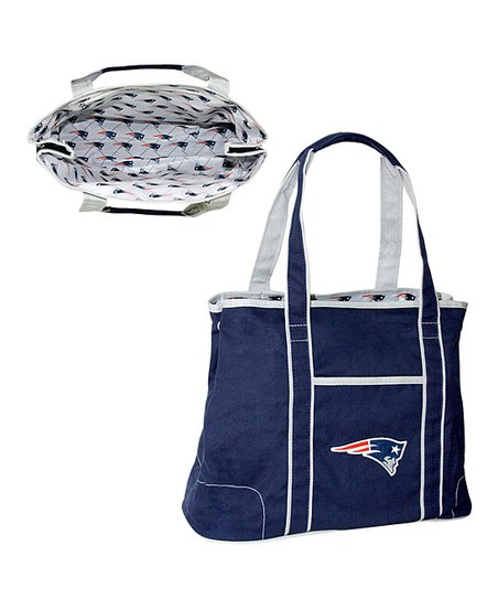 Navy New England Patriots Hampton Tote