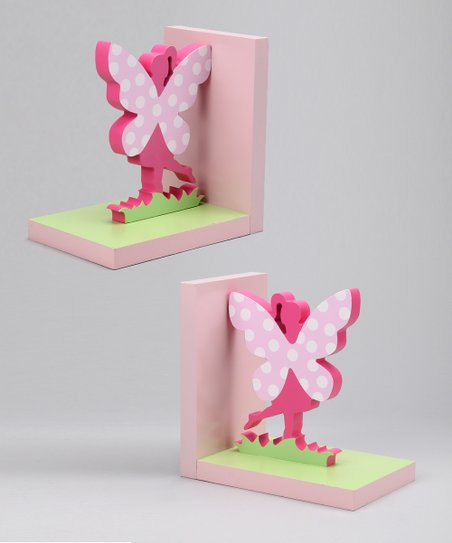 Fairy Bookend Set