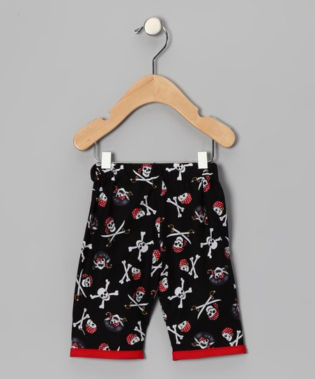 Black Pirate Pants - Infant
