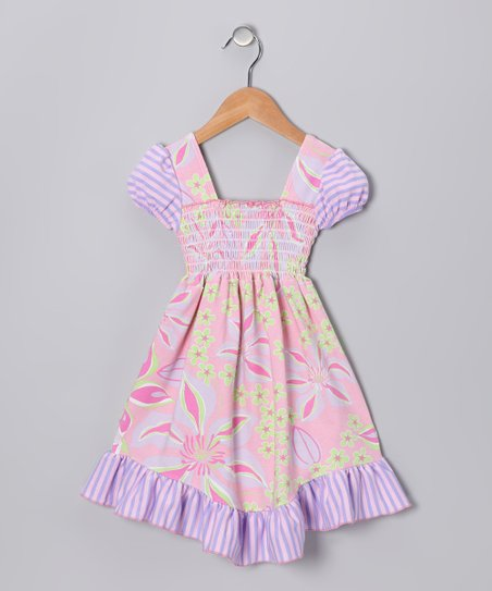 Pink Paradise Smocked Dress - Infant, Toddler &amp; Girls