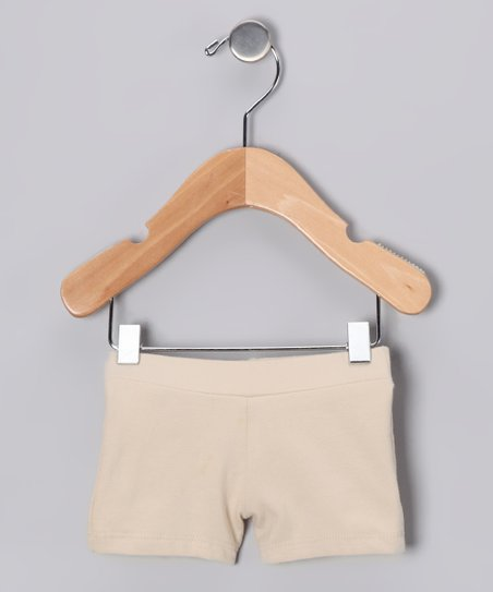 Tan Bike Shorts - Infant