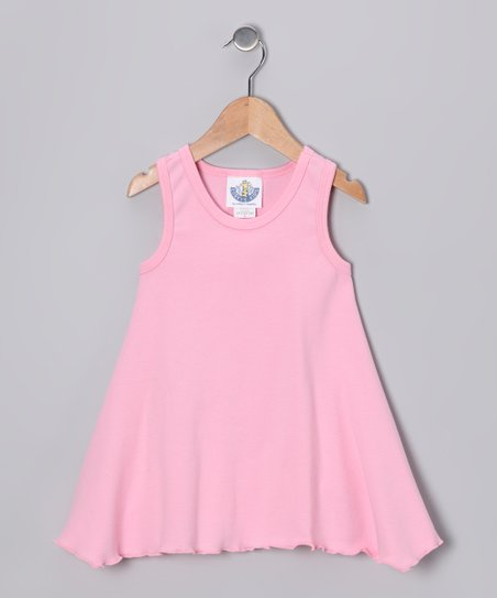 Baby Pink Handkerchief Top - Infant &amp; Girls