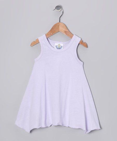 Lavender Handkerchief Top - Girls