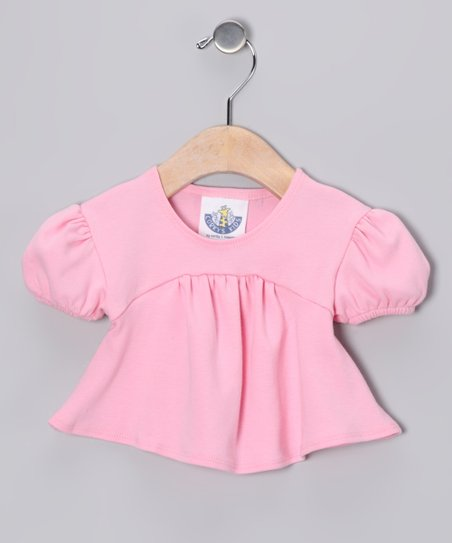 Baby Pink Babydoll Top - Infant, Toddler & Girls
