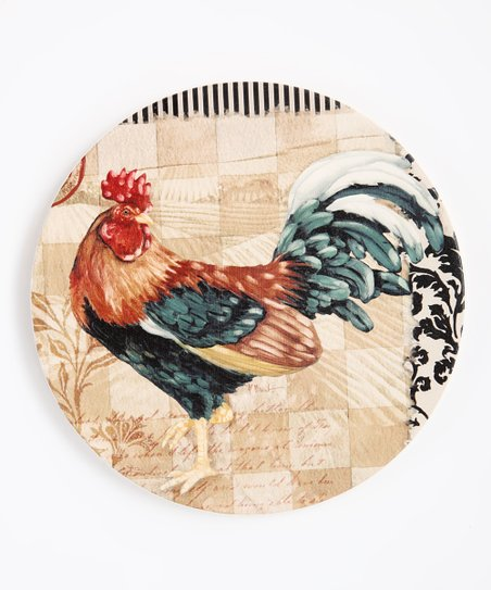 Bergerac Rooster Stone Trivet