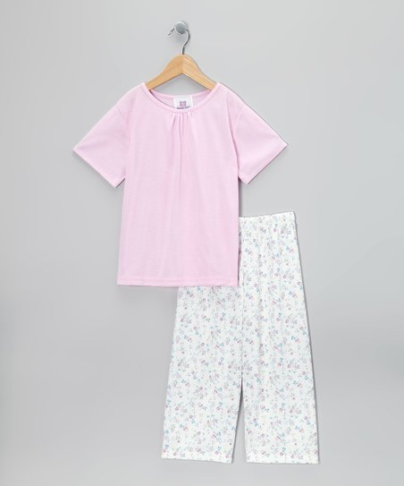 Pink Kate Pajama Set - Toddler & Girls