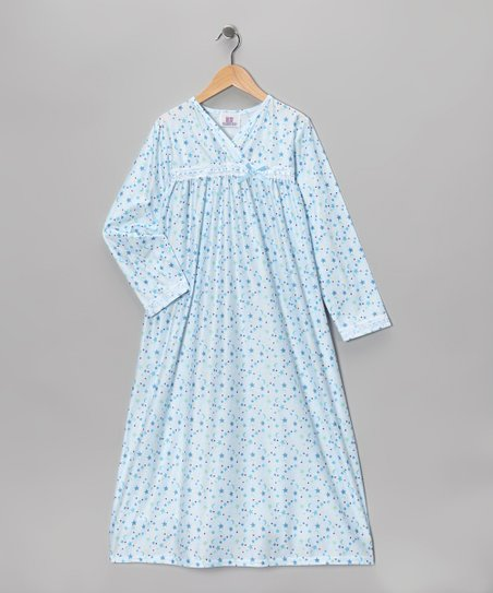 Blue Celestial Surplice Nightgown - Toddler
