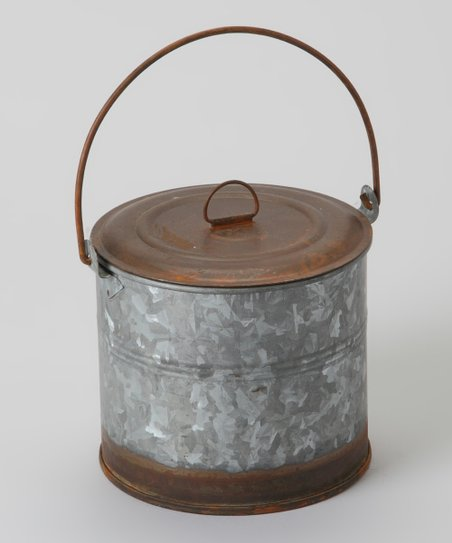 Rustic Can & Lid