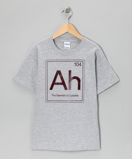 Heather Gray 'Element of Surprise' Tee - Kids & Adult