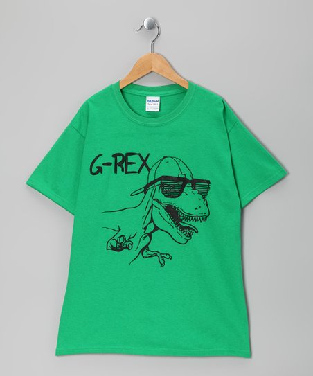 Green 'G-Rex' Tee - Boys & Men