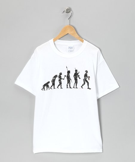 White Zombie Evolution Tee - Kids & Adult