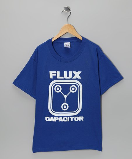 Royal Blue 'Flux Capacitor' Tee - Kids & Adult