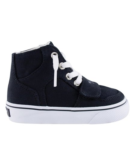 Creative Recreation Black & White Hi-Top Sneaker