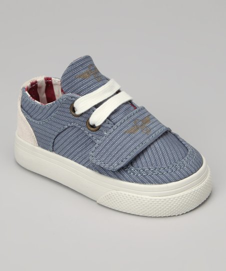 Blue Canvas Rope Vintage Cesario Sneaker