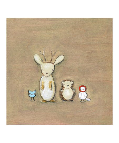 Jackalope and Friends Print