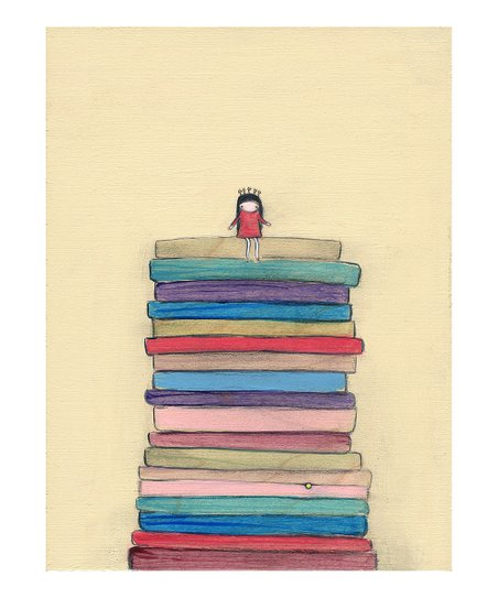 The Princess &amp; The Pea Print 