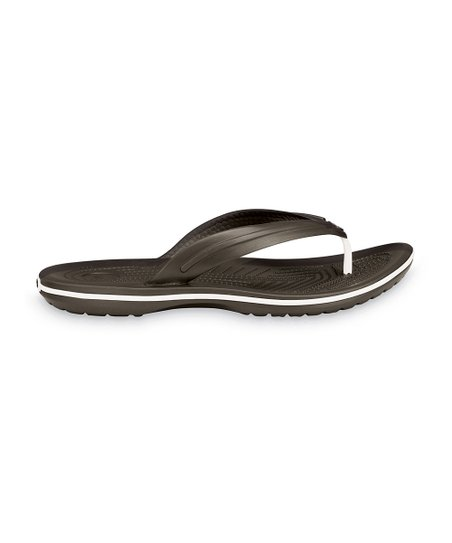 Espresso Crocband Flip-Flop - Men & Women