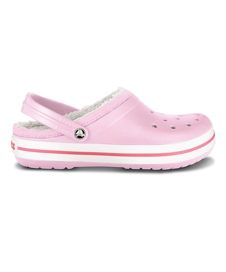 Bubblegum & Oatmeal Crocband Mammoth Clog - Women