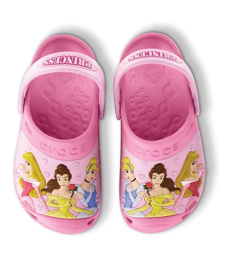 Pink Lemonade & Bubble Gum Princess Party Clog - Kids