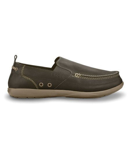 Espresso & Khaki Harborline Loafer - Men
