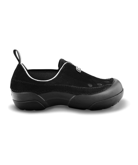 Black Dawson Slip-On Shoe - Kids